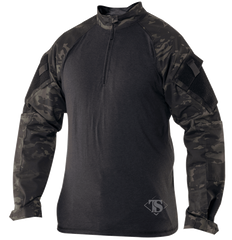 TruSpec Black Multicam 1/4 Zip Combat Shirt (2539) - Iceberg Army Navy