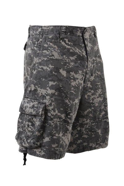 Rothco Vintage Infantry Cargo Shorts Subdued Urban Digital Camo (2770)