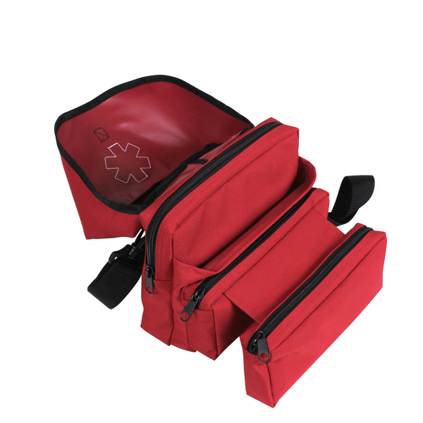Rothco EMS Medical Field Bag Red (EMSBAGR) / Tactical Bags - Iceberg Army Navy