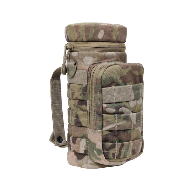 Rothco Molle Water Bottle Pouch Multicam (WC) / Tactical Bags - Iceberg Army Navy