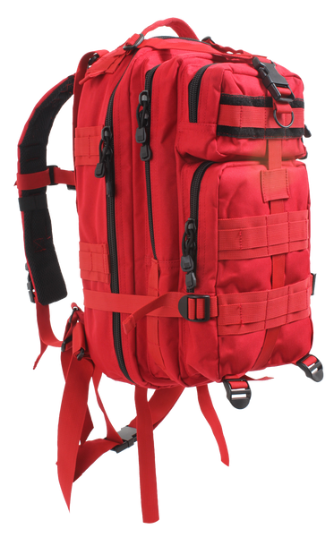 Rothco Medium Transport Pack Red (2977) / Bagpacks - Iceberg Army Navy
