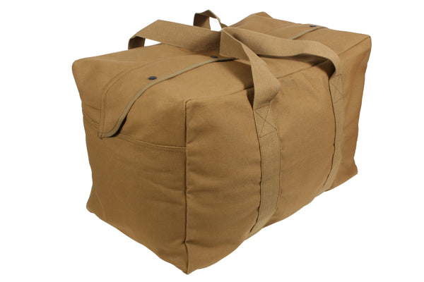 Rothco Canvas Parachute Cargo Bag Coyote (3123) / Canvas Cargo / Duffle Bags - Iceberg Army Navy