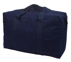 Rothco Canvas Parachute Cargo Bag Navy (3123) / Canvas Cargo / Duffle Bags - Iceberg Army Navy