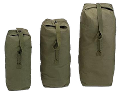 Rothco Canvas GI Duffle Bag Olive Drab (Multi) / Canvas Cargo / Duffle Bags - Iceberg Army Navy