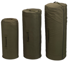 Rothco Canvas Zip Duffle Bag Olive Drab (Multi) / Canvas Cargo / Duffle Bags - Iceberg Army Navy