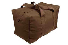 Rothco Canvas Parachute Cargo Bag Brown (3123)