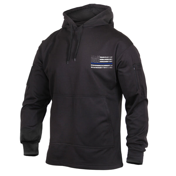 Rothco Concealed Carry Sweatshirts Black Blue Lines (52071) / Sweatshirts - Iceberg Army Navy