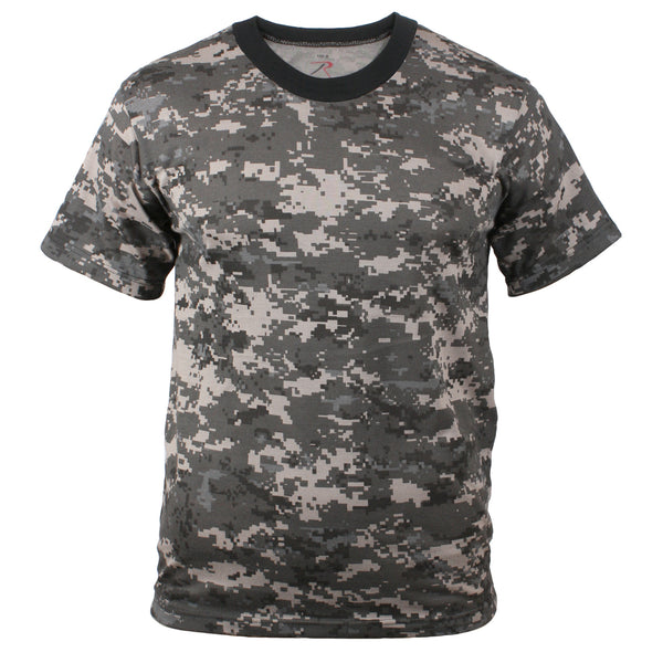 Rothco Camouflage T-Shirt Subdued Urban Digital Camo (5960) / T-Shirts - Iceberg Army Navy