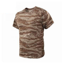 Rothco Camouflage T-Shirt Desert Tiger Stripe Camo (61090)