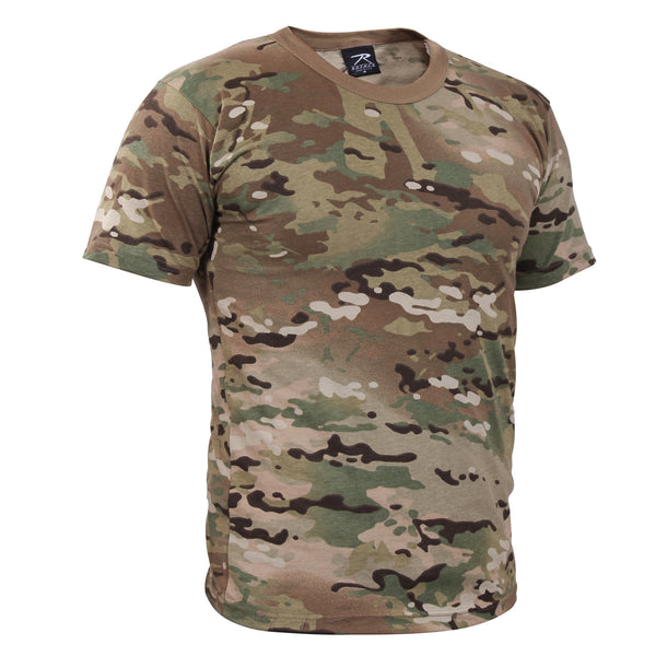 Rothco Camouflage T-Shirt Multicam (6286) / T-Shirts - Iceberg Army Navy