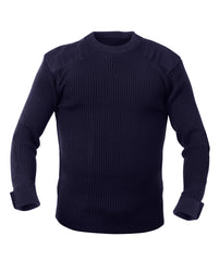 Rothco GI Style Commando Sweater Navy Blue (6347) / Sweatshirts - Iceberg Army Navy