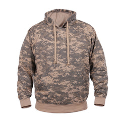 Rothco Pullover Hooded Sweatshirt ACU Digital Camo (6595) / Sweatshirts - Iceberg Army Navy