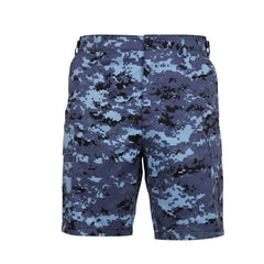 Rothco BDU Cargo Shorts Sky Blue Digital Camo (67313)