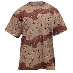 Rothco Camouflage T-Shirt Desert Camo (6767) / T-Shirts - Iceberg Army Navy