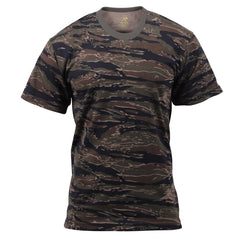 Rothco Camouflage T-Shirt Tiger Stripe Camo (6787) / T-Shirts - Iceberg Army Navy