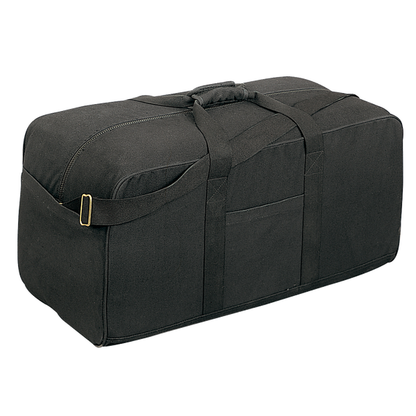 Rothco Canvas Assault Cargo Bag Black (8133)