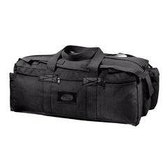 Rothco Canvas Mossad Tactical Duffle Bag Black (8136) / Canvas Cargo / Duffle Bags - Iceberg Army Navy