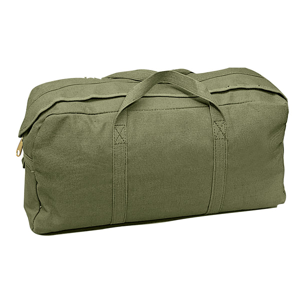 Rothco Canvas Tanker Tool Duffle Bag Olive Drab (8182) / Canvas Cargo / Duffle Bags - Iceberg Army Navy