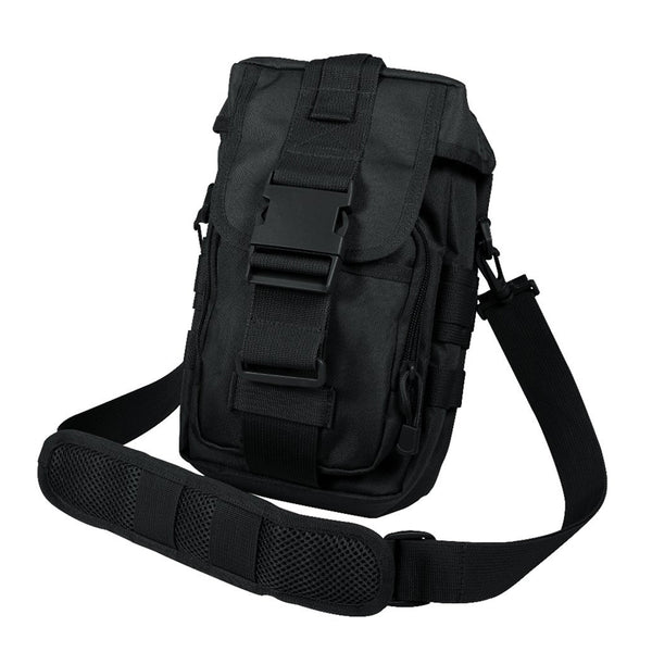 Rothco Flexipack Molle Tactical Shoulder Bag Black (8320)