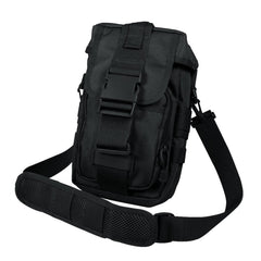 Rothco Flexipack Molle Tactical Shoulder Bag Black (8320) / Messenger Bags - Iceberg Army Navy
