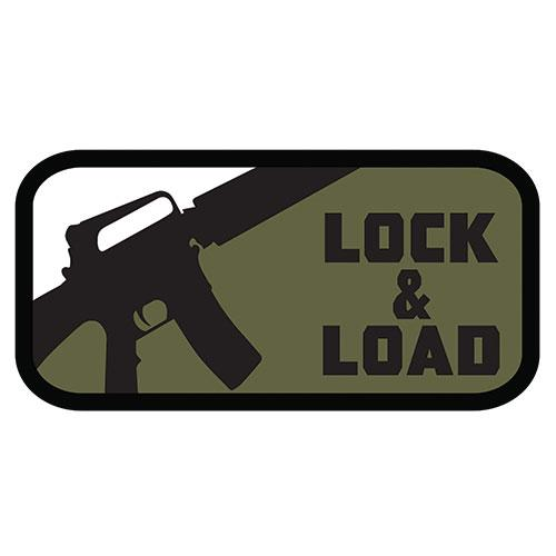 Lock and Load Patch (84P-130) / Morale Patch - Iceberg Army Navy