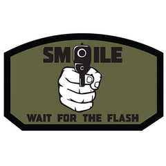 Smile, Wait for the Flash Patch (84P-320) / Morale Patch - Iceberg Army Navy