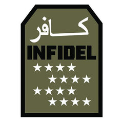 Infidel Star Patch (84P-370) / Morale Patch - Iceberg Army Navy