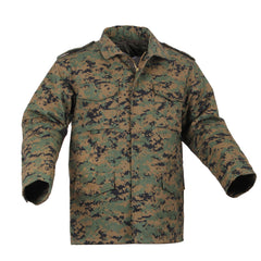 Rothco M65 Field Jacket Woodland Digital Camo (M65R) / M65 Field Jackets - Iceberg Army Navy