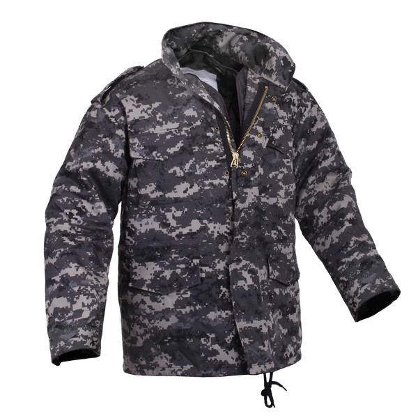Rothco M65 Field Jacket Subdued Urban Digital Camo (M65R)