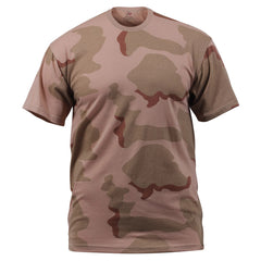 Rothco Camouflage T-Shirt Tri-Color Desert Camo (8767) / T-Shirts - Iceberg Army Navy