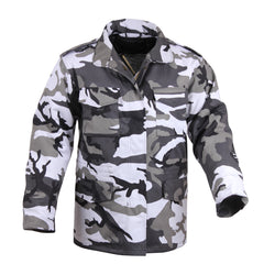 Rothco M65 Field Jacket City Camo (M65R) / M65 Field Jackets - Iceberg Army Navy