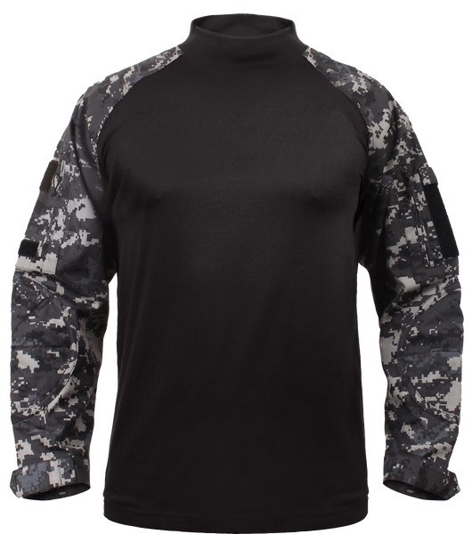 Rothco Subdued Urban Digital Combat Shirt (COMBATSHIRT) / Combat Shirts - Iceberg Army Navy
