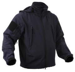 Rothco Spec Ops Soft Shell Jacket Midnight Navy Blue (TACJAC) / Spec Ops Jackets - Iceberg Army Navy