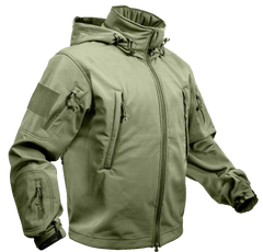 Rothco Spec Ops Soft Shell Jacket Olive Drab (TACJAC)