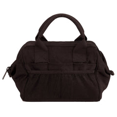 Rothco Canvas Wide Mouth Tool Bag Black (9797) / Tactical Bags - Iceberg Army Navy
