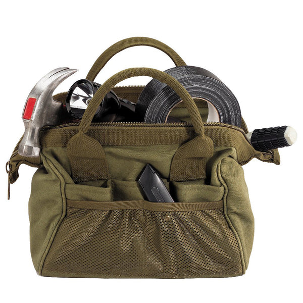 Rothco Canvas Wide Mouth Tool Bag Olive Drab (9797) / Tactical Bags - Iceberg Army Navy