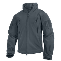 Rothco Spec Ops Soft Shell Jacket Gun Metal Grey (TACJAC) / Spec Ops Jackets - Iceberg Army Navy