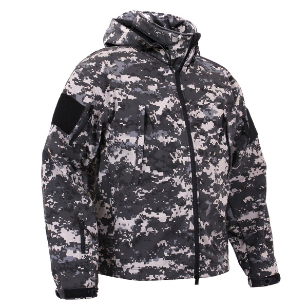 Rothco Spec Ops Soft Shell Jacket Subdued Urban Digital Camo (TACJAC)