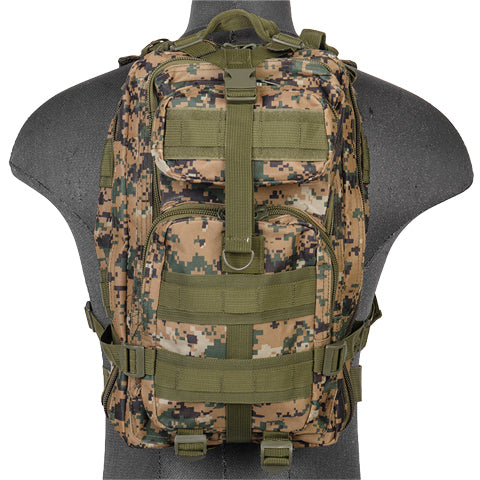 Medium Transport Pack Woodland Digital (TACBAGLEW) / Bagpacks - Iceberg Army Navy