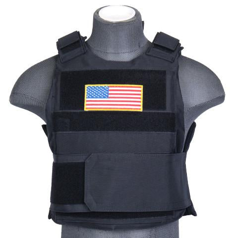 Black Body Armor Vest (BAV) / Tactical Vest - Iceberg Army Navy