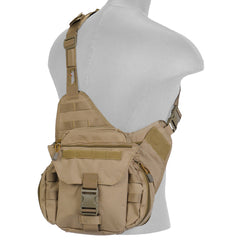 Tactical Side Messenger Bag Tan (TMBAG) / Tactical Bags - Iceberg Army Navy