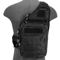 Tactical Messenger Bag Black (MB001) / Tactical Bags - Iceberg Army Navy