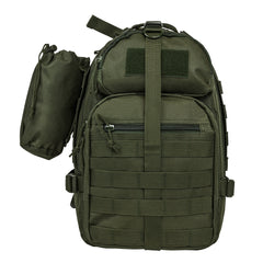 NcStar Tactical Sling Pack Olive Drab (TACSLINGBAG) / Bagpacks - Iceberg Army Navy