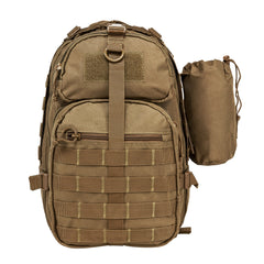 NcStar Tactical Sling Pack Tan (TACSLINGBAG) / Bagpacks - Iceberg Army Navy