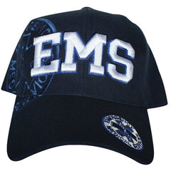 EMS Emblem Embroidered Ball Cap Navy (78-461)