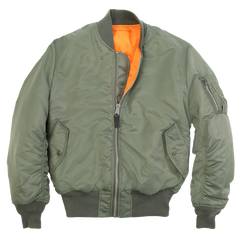 Alpha Industries MA-1 Flight Jacket (MA1) / MA-1 Flight Jackets - Iceberg Army Navy