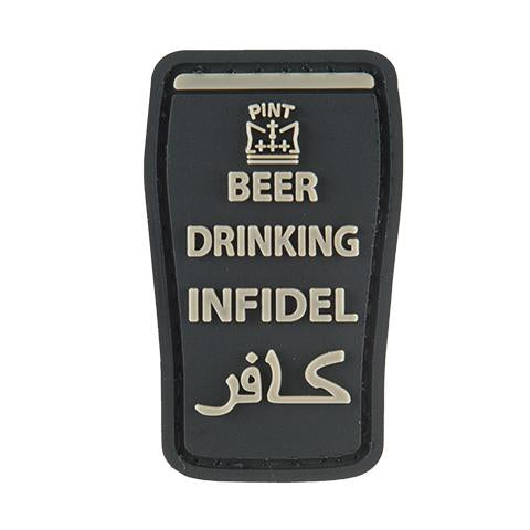G-Force Beer Drinking Infidel Patch (PATCH118) / Morale Patch - Iceberg Army Navy