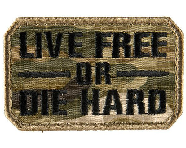 Live Free or Die Hard Patch (PATCH178) / Morale Patch - Iceberg Army Navy