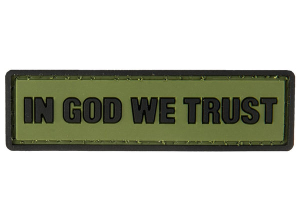 G-Force In God We Trust Patch (PATCH181) / Morale Patch - Iceberg Army Navy