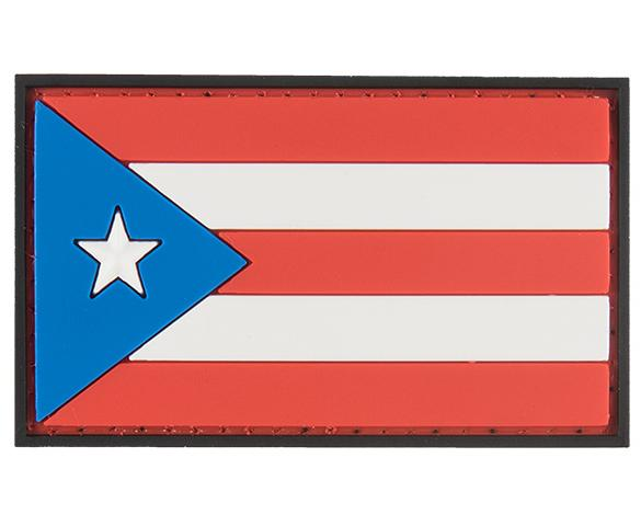 G-Force Puerto Rico Flag Patch (PATCH121) / Morale Patch - Iceberg Army Navy